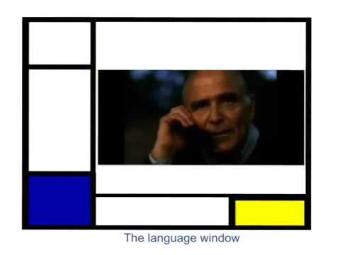 The language window ( video from France Telecom ).