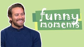 Armie Hammer / Call Me By Your Name Actor | Funny Moments To Make You Smile