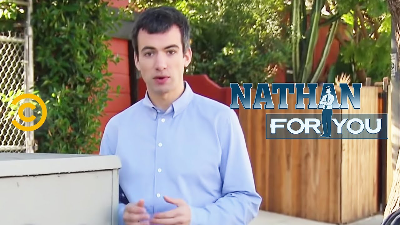 Nathan For You - Catching A Vandal Pt 1