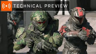 Halo Infinite   Multiplayer Technical Preview Overview