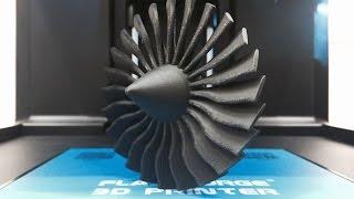 FLASHFORGE フラッシュフォージ 3DプリンターとカーボンファイバーPLA樹脂で飛行機エンジン出力