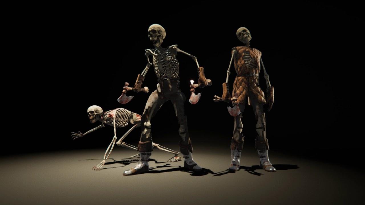 Skeleton Army generator - Unity Forum