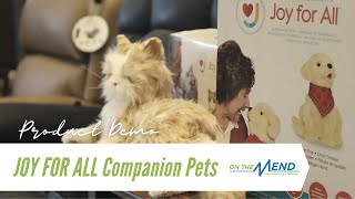 Hasbro JOY FOR ALL Companion Pets Product Demo + Review