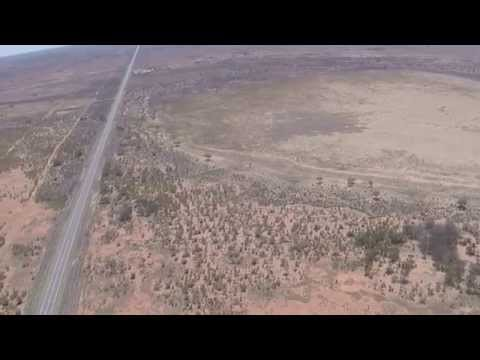 Quadcopter Over Broken Hill NSW