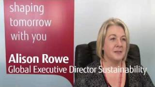 Fujitsu - Alison Rowe - ICT Sustainability: Global Benchmark Report 2011