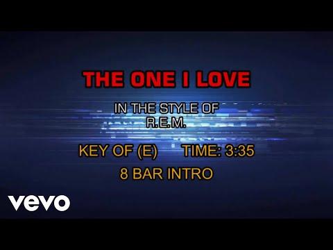 R.E.M. - The One I Love (Karaoke)