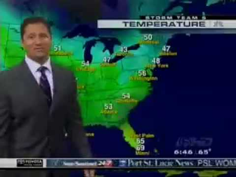 Meteorologist Glenn Glazer
