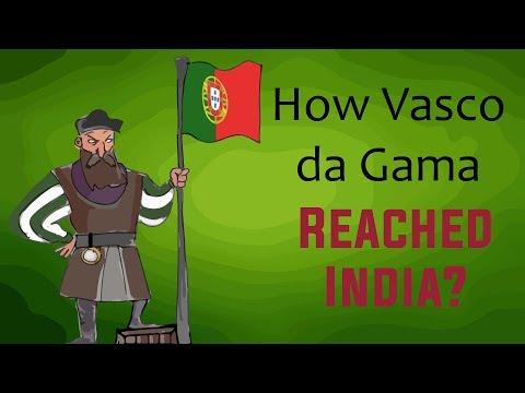 How did Vasco da Gama Reach India?