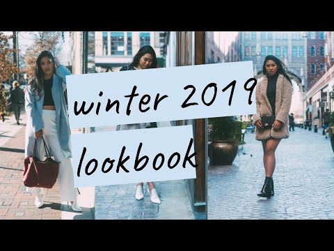 winter 2019 lookbook | day/night outfit ideas 1
