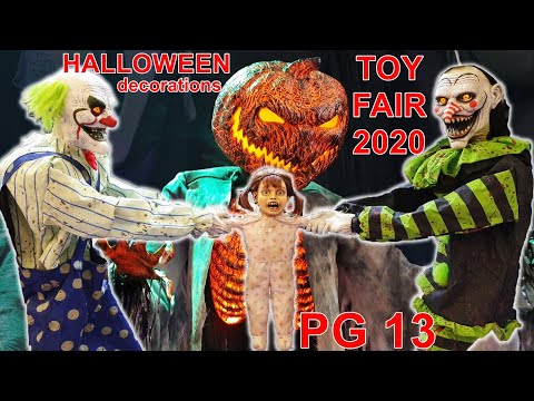 Halloween Costume Fairs Nola 2020 PG13! SUPER SCARY HALLOWEEN Animatronics & Costumes! Toy Fair