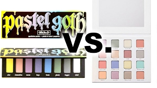 LIVE STREAM - LORAC I Love Brunch vs. Kat Von D Pastel Goth SWATCHES and First Impressions!