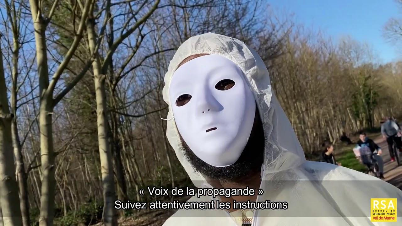 Organise ton Action Masques Blancs