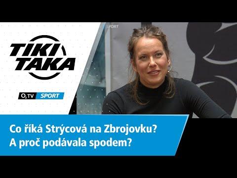 TIKI-TAKA: Co říká Bára Strýcová na Zbrojovku Brno? A proč podávala spodem?