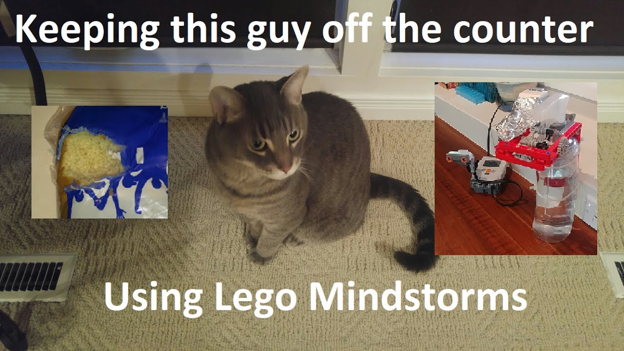 lego mindstorms keeping your cat off the counter youtube. Black Bedroom Furniture Sets. Home Design Ideas