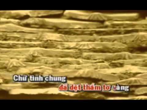 KARAOKE.Huyen Tran Gia Biet Khac Chung HAT VOI THU HA