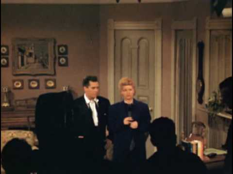 I Love Lucy On Stage Color Footage 1951 Youtube
