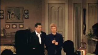 I Love Lucy - On Stage Color Footage (1951)
