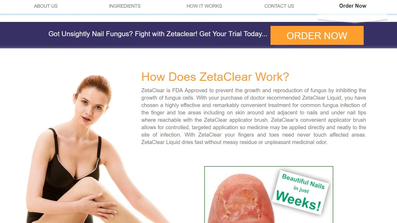 Does Zetaclear Work Treating Nail Fungus Does Zetaclear Really