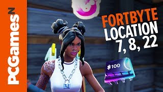 Fortnite Fortbyte Guide Numbers 7 8 And 22