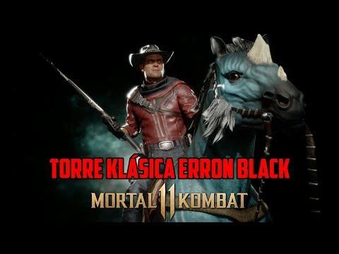 erron black mk11 fatality