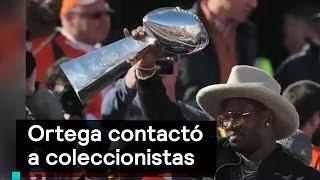 Mauricio Ortega contactó a coleccionistas para vender casco - Despierta con Loret