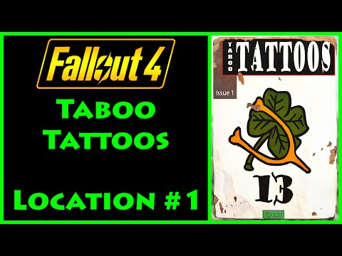 Fallout 4 - Taboo Tattoos - Mass Pike Tunnel - 4K Ultra HD