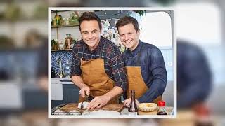 Ant and Dec shoot Friday Night Feast with Jamie Oliver and Jimmy Doherty