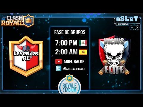 eSLaT – Liga Royale Stadium | Fase de Grupos | Leyendas AE vs Vicius Elite