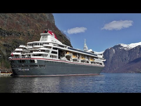 MS Braemar Cruise Ship at Flam Norway