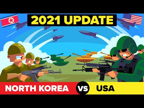 North Korea vs United States (USA) - 2021 Military / Army Comparison