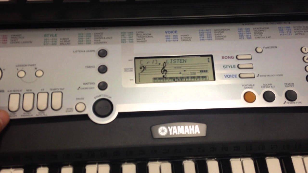 Yamaha Ypt Vs Ypt