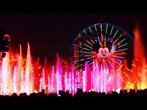 World Of Color 2019 FULL SHOW, Disneyland Resort