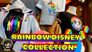 What's new at Downtown Disney   Rainbow Disney Collection has arrived!