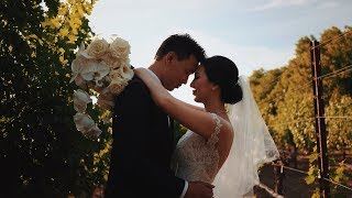 The Chan's The Estate Vintage House Yountville Wedding Video