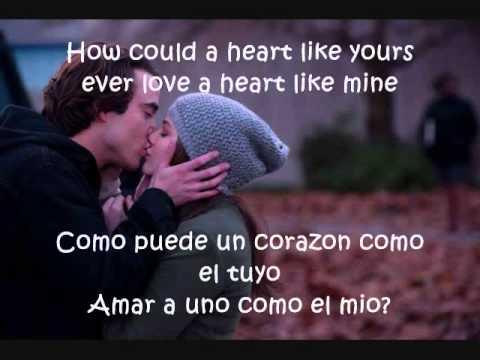 If I stay -Heart Like Yours en españoy lyrics