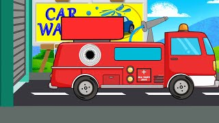 Fire Truck | Car Wash