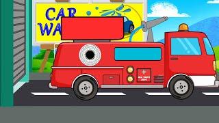 Fire Truck | Car Wash