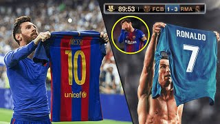The Day Cristiano Ronaldo Finally Get Revenge Against Lionel Messi And Barcelona MP3