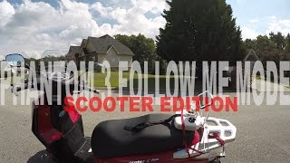 DJI Phantom 3 Pro - Follow Me Mode -  Scooter Edition