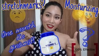 AR VITAMIN E MOISTURIZING CREAM HONEST REVIEW for stretchmarks claim| After using for 1 month 😊|