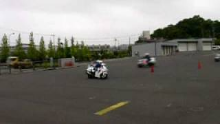 平成21年度島根県警察白バイ安全運転競技大会フィナーレ