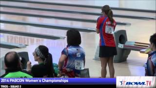 Clara Guerrero 300 game 2014 PABCON Women's Championship