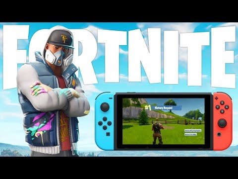 Playing Fortnite Battle Royale On The Nintendo Switch?!.... LOL How Bad Can It Be?