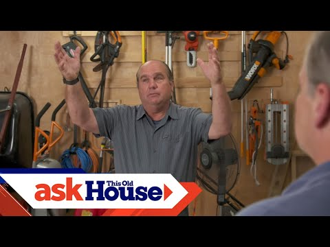 How To Heat A Garage Workshop | Ask This Old House