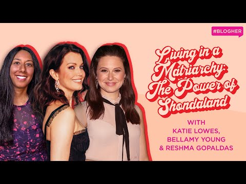 Katie Lowes & Bellamy Young on Scandal, Shonda Rhimes, Kerry Washington & Diversity in TV - BlogHer