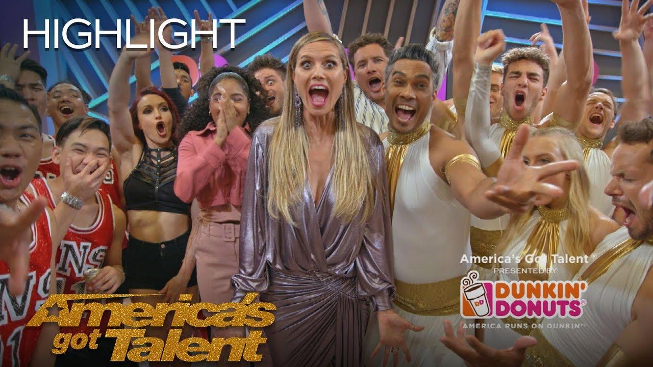 Dunkin' Lounge - Semi Finals Results 1 - America's Got Talent 2018