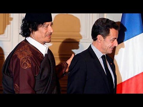 ساركوزي يقول إنه سيسحق -عصابة القذافي .. عصابة القتلة-  - نشر قبل 36 دقيقة