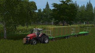 Farming simulator 17 - Blickling timelapse ep.43 Hay!