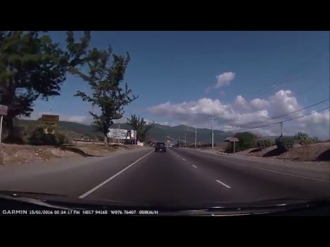 Driving In Kingston Jamaica - Part 1 - Airport To Barbican Rd.