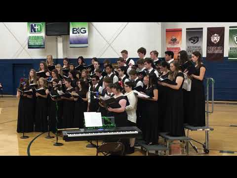 Peoria Notre Dame High School Choir Christmas Concert December 9, 2018